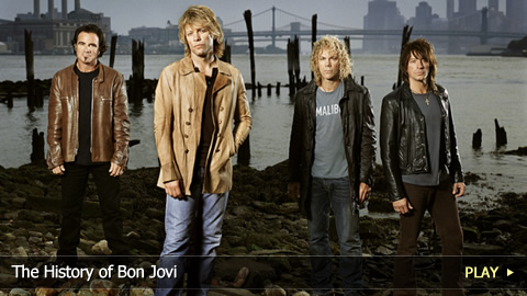 The History of Bon Jovi