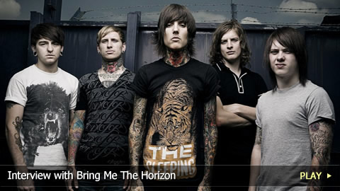 Interview With Bring Me The Horizon