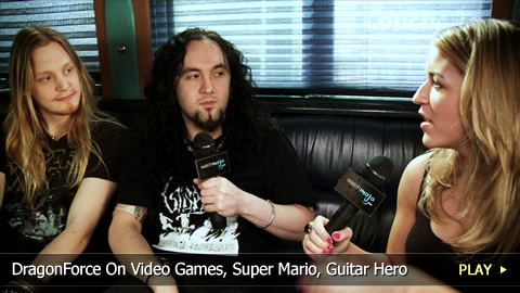 DragonForce On Video Games, Super Mario, Guitar Hero