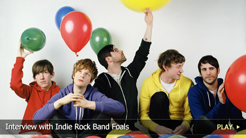 Interview with Indie Rock Band Foals