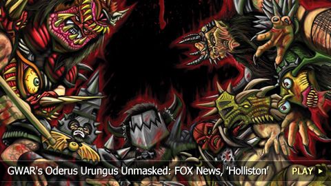 GWAR's Oderus Urungus Unmasked: FOX News, 'Holliston'