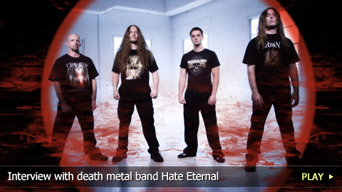 Interview with death metal band Hate Eternal
