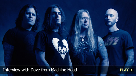 Interview with Dave from Machine Head