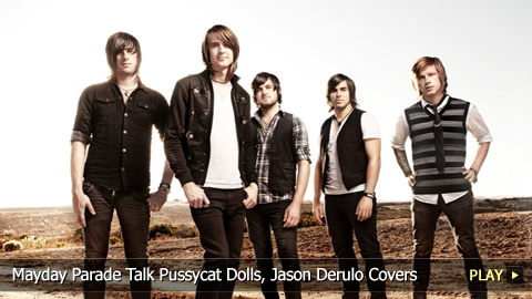 Mayday Parade Talk Pussycat Dolls, Jason Derulo Covers