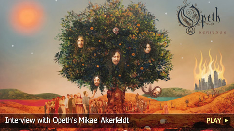 Interview with Opeth's Mikael Akerfeldt