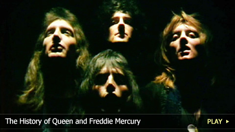 The History of Queen and Freddie Mercury