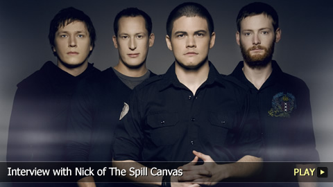Interview With Nick of The Spill Canvas