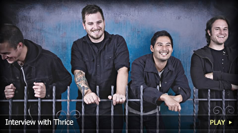 Interview With Thrice