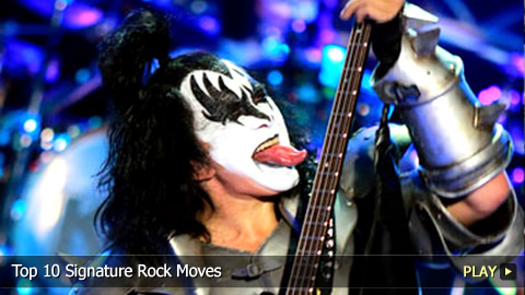 Top 10 Signature Rock Moves