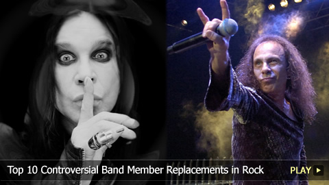 Top 10 Controversial Band Member Replacements in Rock