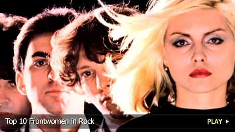 Top 10 Frontwomen in Rock