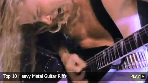 Top 10 Heavy Metal Guitar Riffs