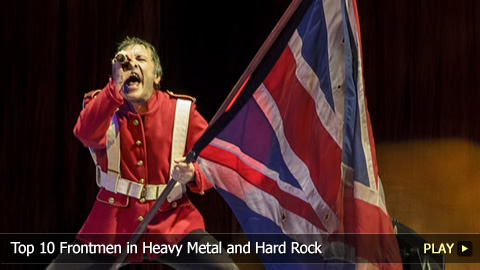 Top 10 Frontmen in Heavy Metal and Hard Rock