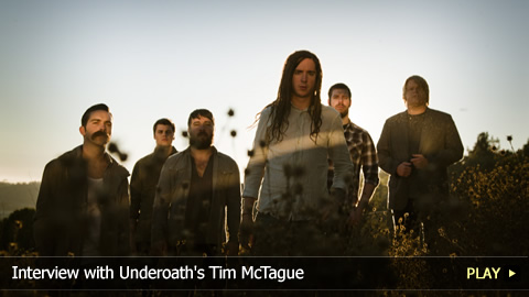 Interview with Underoath's Tim McTague