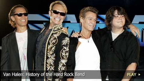 Van Halen: History of the Hard Rock Band