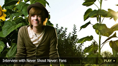 Interview With Never Shout Never