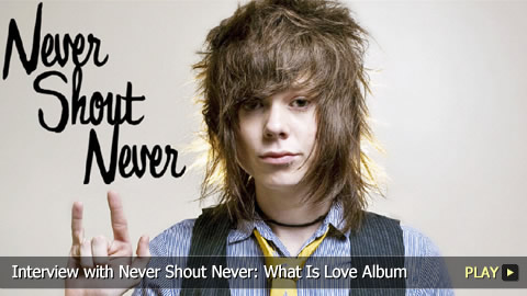 Interview with Never Shout Never: What Is Love Album