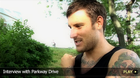 Interview With Parkway Drive