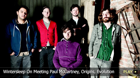 Wintersleep On Meeting Paul McCartney, Origins, Evolution