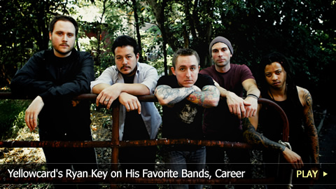 Yellowcard's Ryan Key on His Favorite Bands, Career