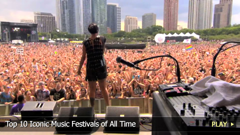 Top 10 Iconic Music Festivals of All Time
