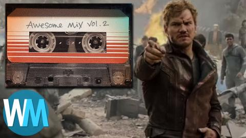 Top 10 Songs from the Guardians of the Galaxy Awesome Mixes!