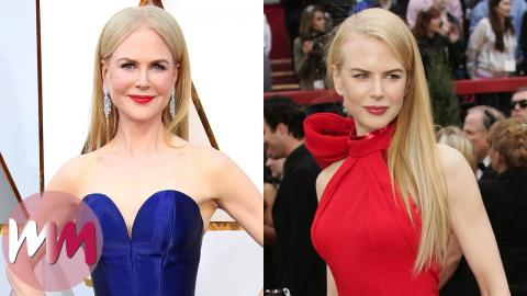 Top 10 Nicole Kidman Red Carpet Looks