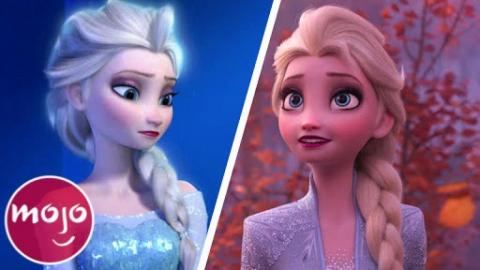 Frozen VS Frozen 2