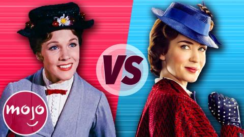 Mary Poppins (1964) vs Mary Poppins Returns (2018)