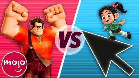 Wreck It Ralph VS Ralph Breaks The Internet