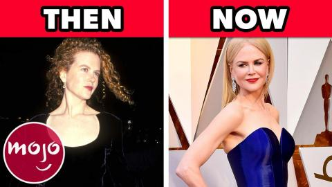 Celebs' First Oscars Dress: Then VS Now