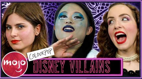We Try ColourPop's Disney Villains Collection & Recreate Looks