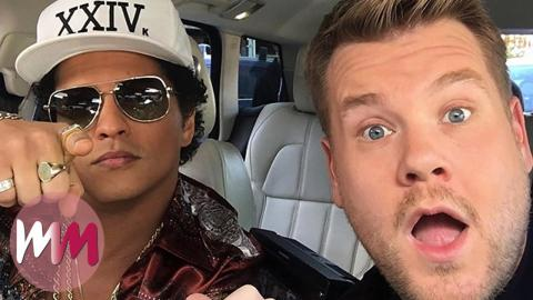 Another Top 10 James Corden Carpool Karaoke Performances