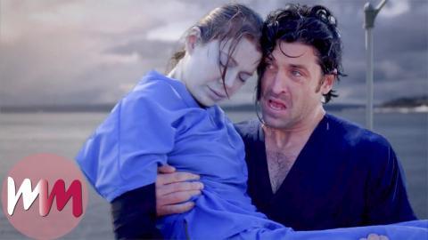 Top 10 Meredith Derek Moments On Greys Anatomy Watchmojo