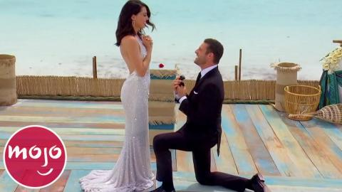 Top 10 Romantic Proposals on The Bachelor