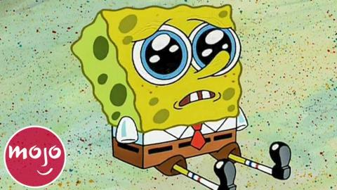 Top 10 SpongeBob Moments That Made Us Happy Cry | WatchMojo com