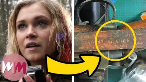 Top 10 Small Details You Missed in The 100