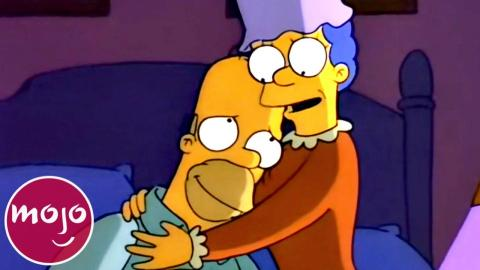 Top 10 Sweetest Homer & Marge Simpson Moments