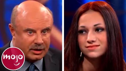 Top 10 Times Dr  Phil LOST IT On His Guests | WatchMojo com