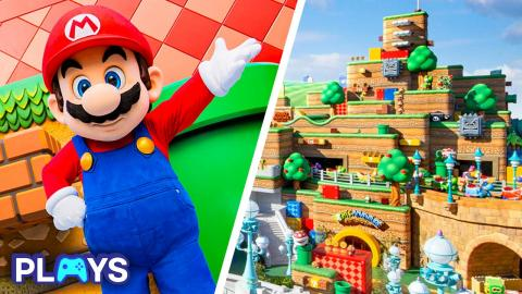 10 Awesome Details in Super Nintendo World