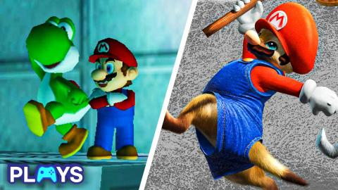 10 Times Mario Invaded Other Games