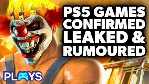 Every PS5 Game Confirmed, Leaked and Rumoured | MojoPlays