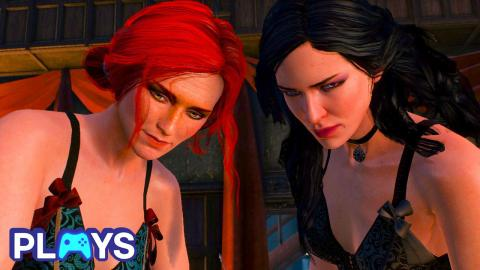 Yennefer, Triss and Geralt's Love Triangle Explained | MojoPlays