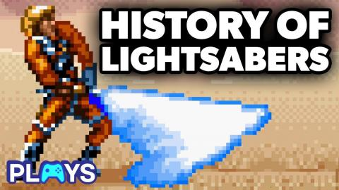 History of Video Game Lightsabers | MojoPlays