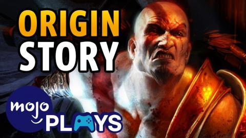 Origin Story of Kratos: God of War, Slayer of the Greek Pantheon