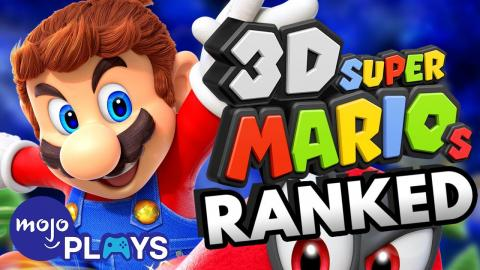 ALL 3D Super Mario Games Ranked - MojoPlays