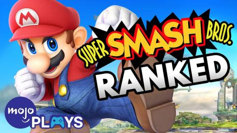 Ranking ALL the Smash Bros. Games - MojoPlays