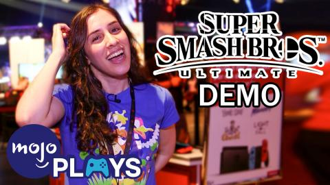 Jess Plays Smash Ultimate at DreamHack 2018