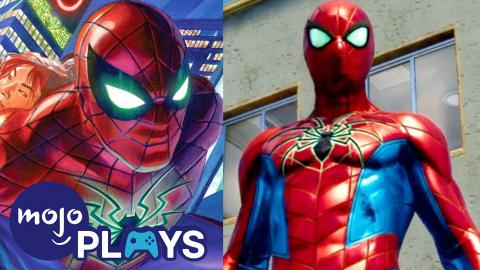 The Best Spider-Man PS4 Suits and Where They're From