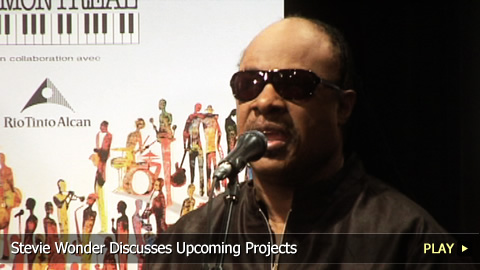 Stevie Wonder Discusses Upcoming Projects